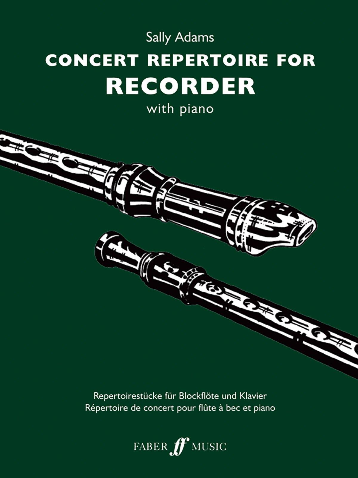 Concert Repertoire for Recorder (Faber Edition: Concert Repertoire)