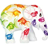 Elephant Parade Limited Edition hand painted replica Elephant - Rainbow Fish (20cm) by Elephant Parade