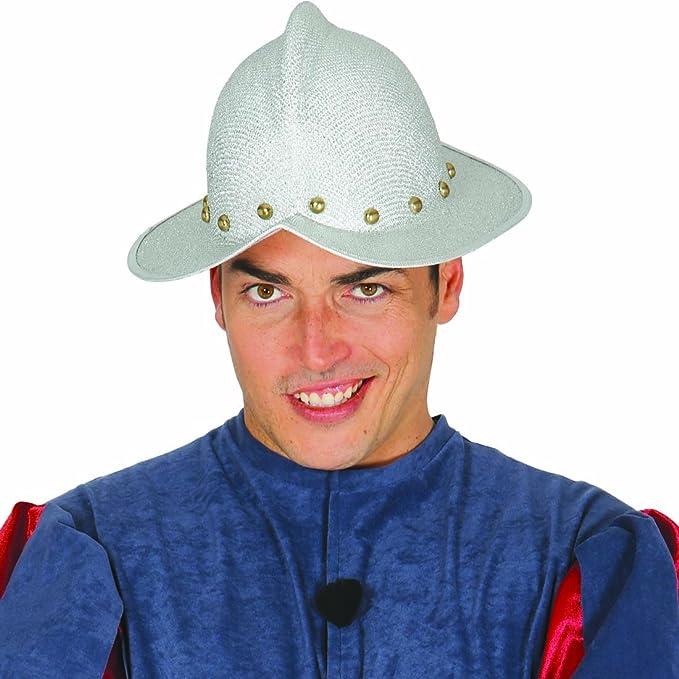 bbc64e7437d NET TOYS Morion discoverer burgonet explorer Spanish helmet conqueror  Headgear Conquistador Hat adventurer balaclava costume accessory invader   ...