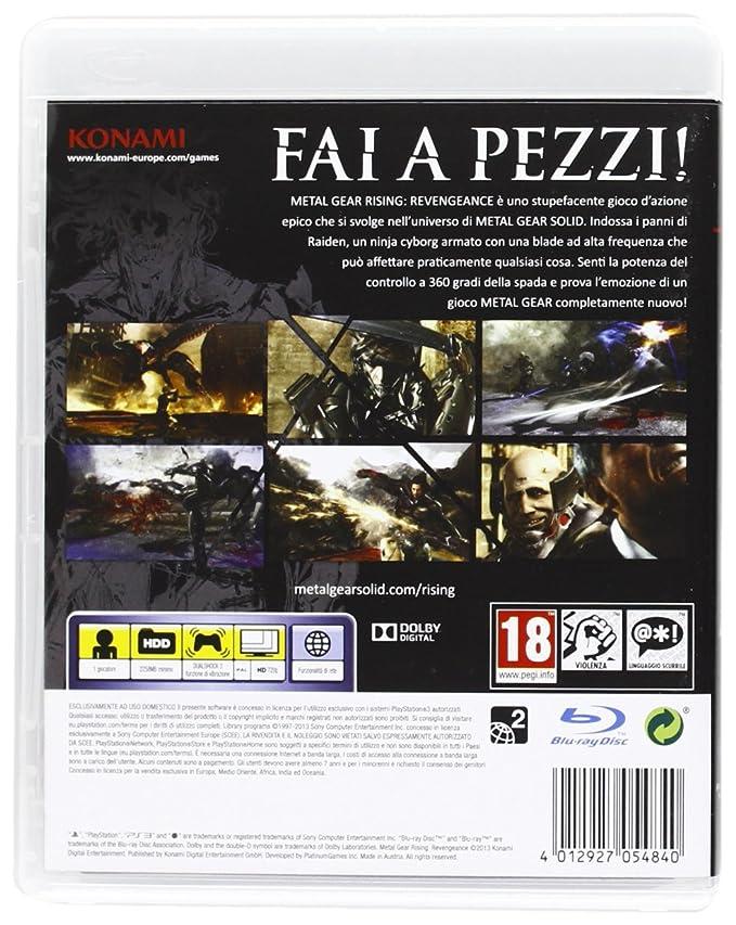 Metal Gear Solid Revengeance: Amazon.es: Videojuegos
