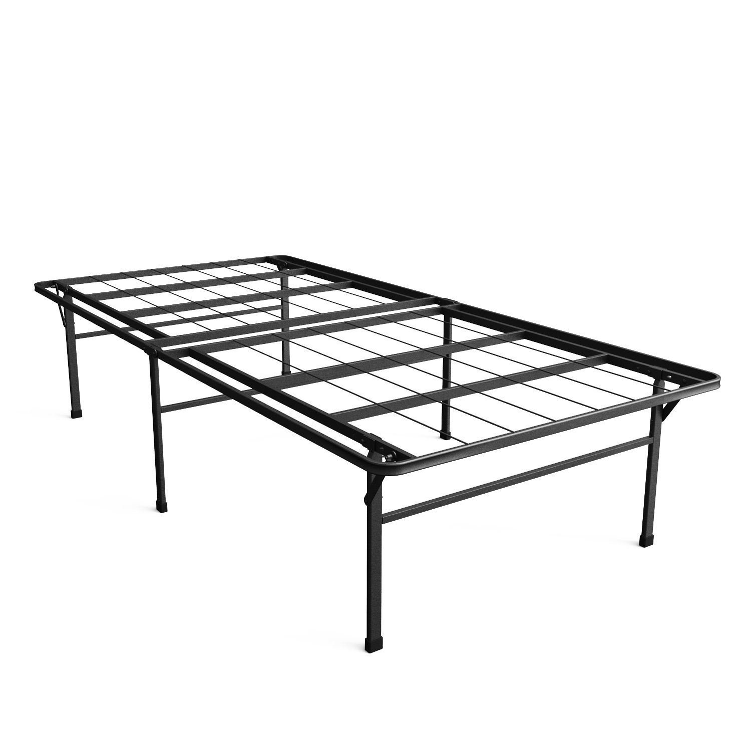 Zinus Casey 18 Inch Premium SmartBase Mattress Foundation / 4 Extra Inches high for Under-bed Storage / Platform Bed Frame / Box Spring Replacement / Strong / Sturdy / Quiet Noise-Free, Twin XL by Zinus
