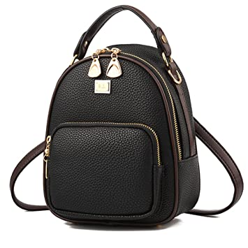 b1b392d410 Amazon.com  NaSUMTUO Mini Backpack Purse Handbag Shoulder Bag for Daily  Work Hiking Travel School  NaSUMTUO