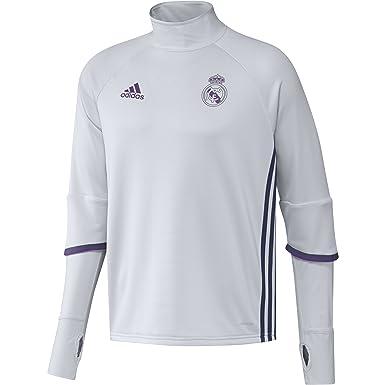 adidas Real Madrid CF TRG Sudadera, Hombre, Morado/Blanco, XS ...