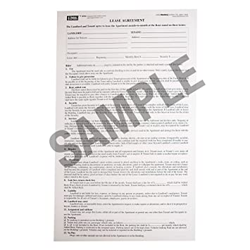 Blumberg New York Month To Month Apartment Lease Form 202 (8.5 X 14