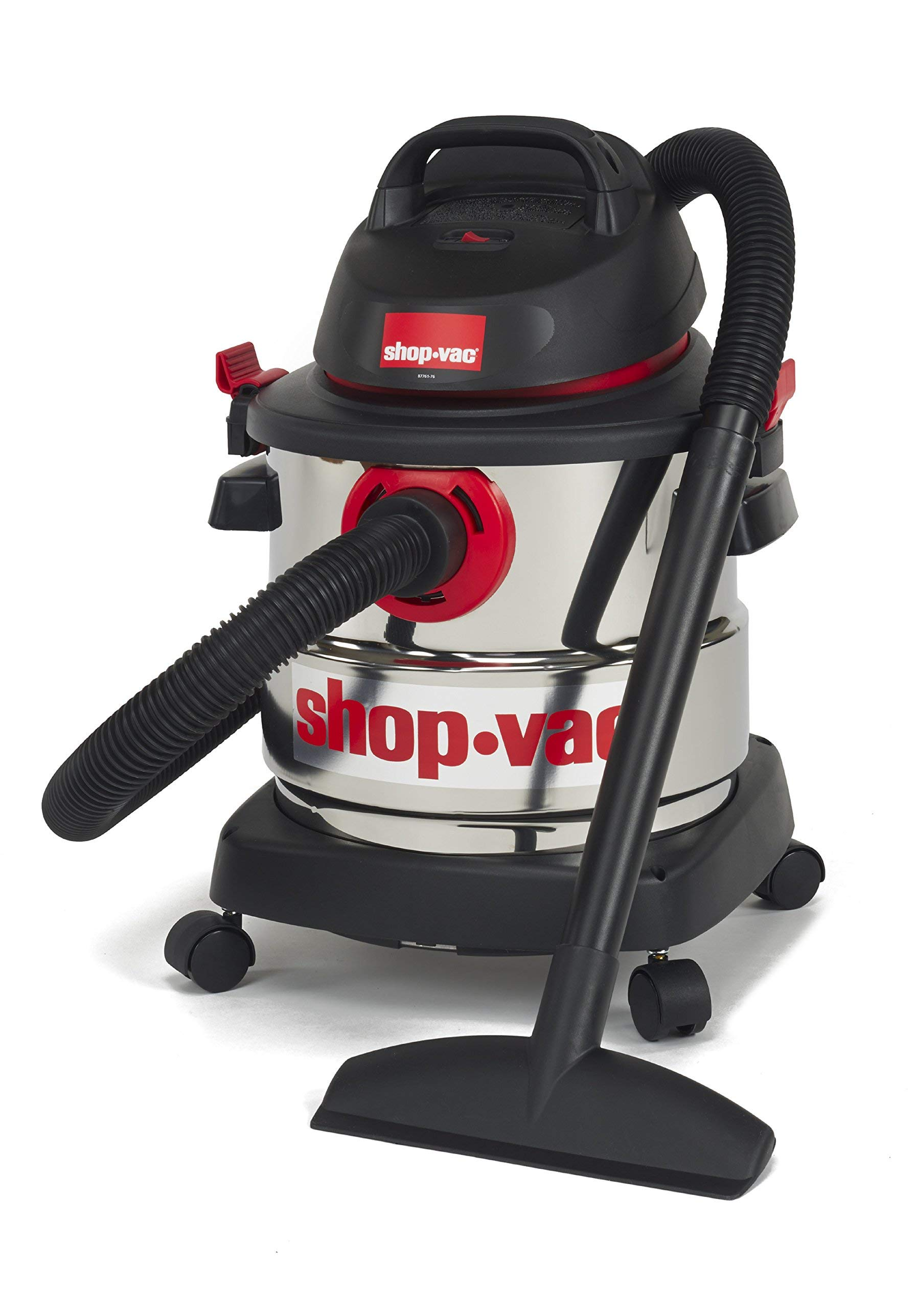 Shop-Vac 5989300 5-Gallon 4.5 Peak HP Stainless Steel Wet Dry Vacuum (Renewed) by Shop-Vac (Image #3)