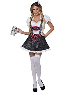 California Costumes Flirty Fraulein Adult Costume-