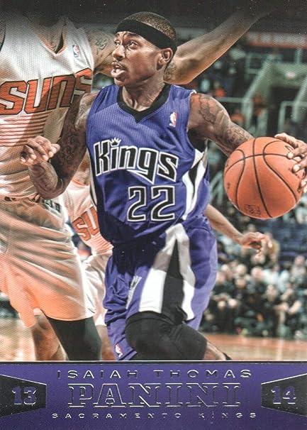 2013-14 Panini Basketball  42 Isaiah Thomas Sacramento Kings at ... 899403c70