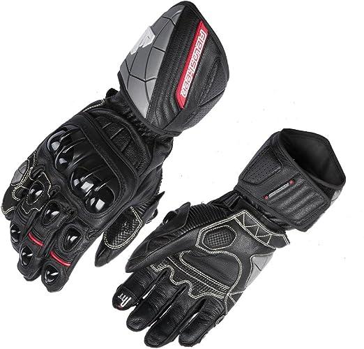 Black//White//Red, Large Fieldsheer Unisex-Adult Race-Pro Gloves