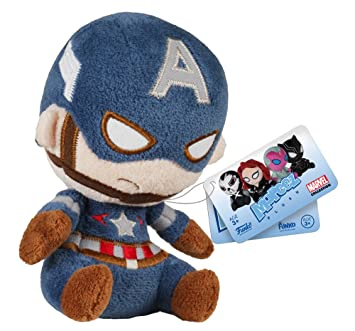 Marvel Funko Mopeez Peluches - Captain America