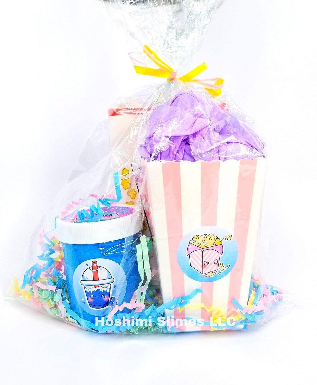 Amazon.com: Movie Snack Pack Slime Kit-Hoshimi Slimes: Handmade
