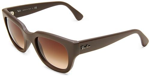 Amazon.com: Ray-Ban 0rb4178 cuadrado anteojos de sol, Beige ...