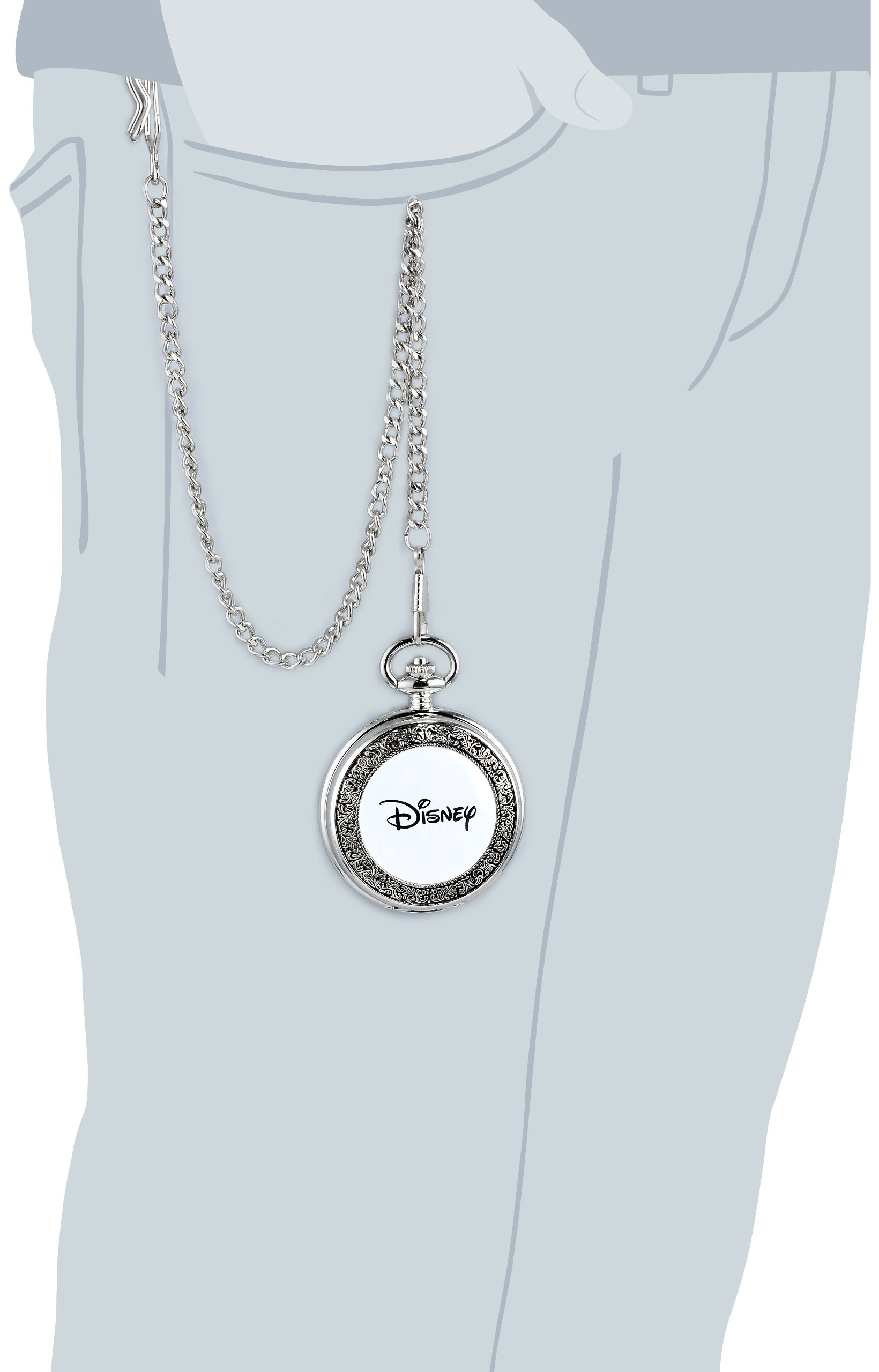 Disney Men's 56403-3467 Mickey Mouse Pocket Watch by Disney (Image #5)