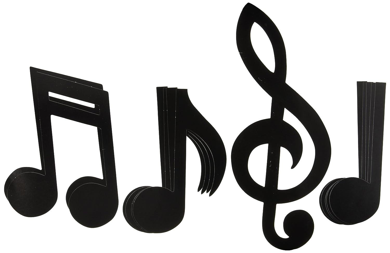 Amazon musical note silhouettes black 12pkg kitchen amazon musical note silhouettes black 12pkg kitchen dining buycottarizona