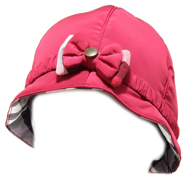 4327F cappello BURBERRY accessori bimba hat kids VIOLA [50 CM ...