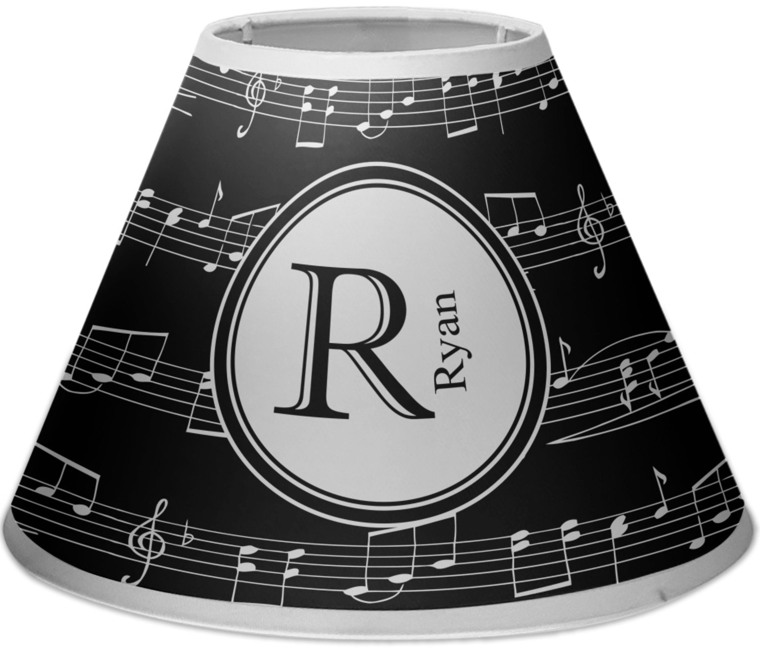 RNK Shops Musical Notes Empire Lamp Shade (Personalized) Mom Innovations
