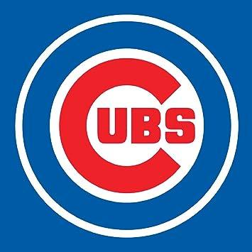 Gorra de béisbol, diseño de los Chicago Cubs Escudo de pared Pegatina Vinilo 60 cm x 60 cm grande (700 x 600 x 600 mm): Amazon.es: Hogar