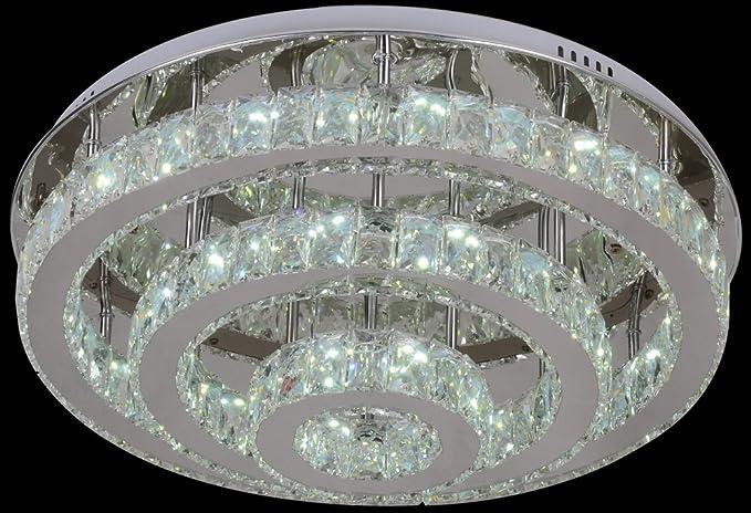 Dematex moderna lampada da soffitto con led mp bianco amazon