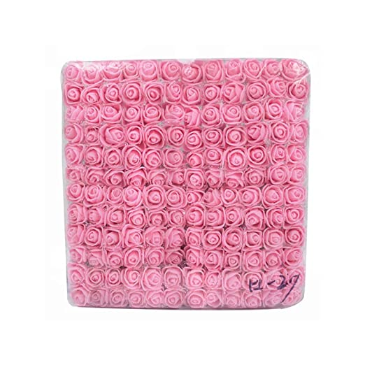 NA 144pcs 2cm Mini Rose de la Espuma Decoración de la Flor ...