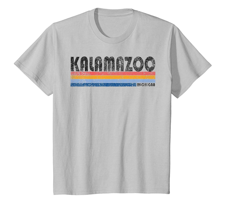 Amazon Vintage 1980s Style Kalamazoo Michigan T Shirt Clothing