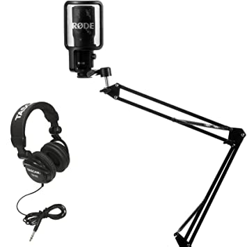Rode NT-USB Condensor Microphone with Knox Mic Boom Arm Stand and Pop  Filter  Amazon.ca  Musical Instruments f5ccd0b30a7d