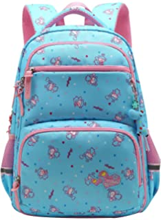 8e82f599c849 Girl Multipurpose Dot Primary Junior High University School Bag Bookbag  Backpack