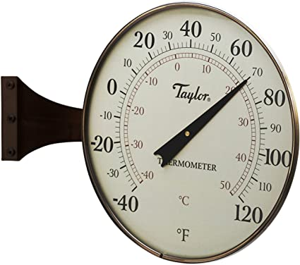 Easy to Use Taylor Precision Products Indoor//Outdoor Thermometer 8.5-inch