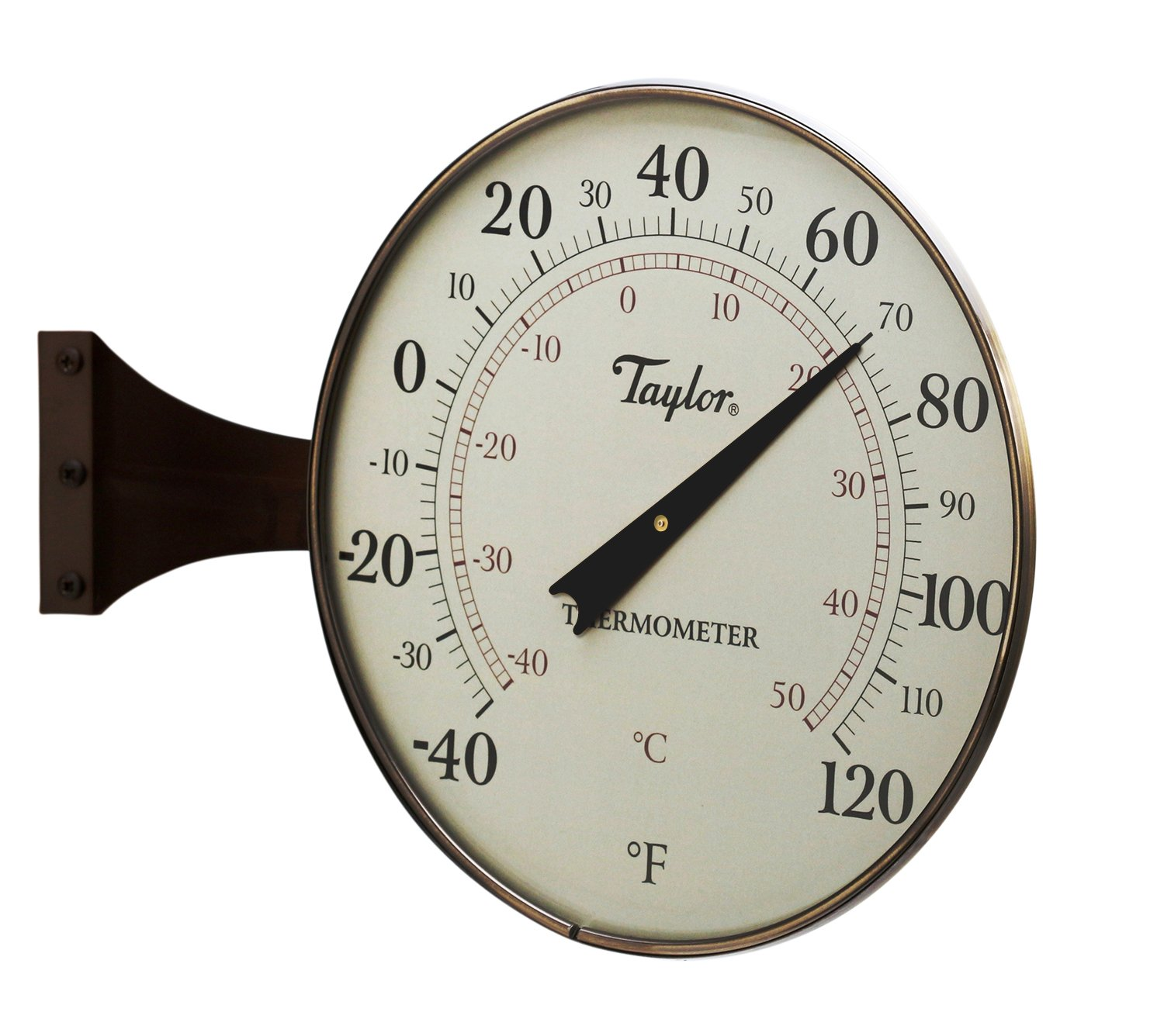 Taylor Heritage MetalDial Thermometer, 8.5-Inch