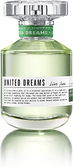 perfume benetton united dreams mujer