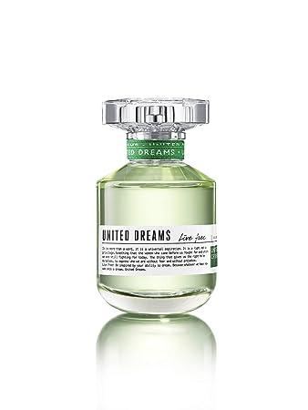 Benetton United Dreams Live Free Eau de Toilette Spray for Women, 2.7 Ounce
