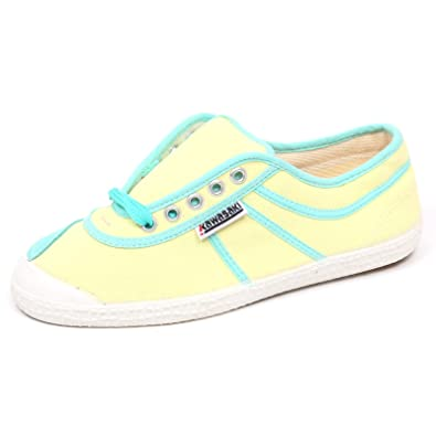 E6764 (Without Box) Sneaker Donna Yellow Kawasaki Scarpe Canvas Shoe Woman [38]: Amazon.es: Zapatos y complementos