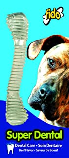 "product image for Fido Super Dental Dog Bones, Medium 6-1/4"""