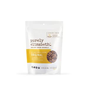 Purely Elizabeth, Organic Ancient Grain Granola, Original, 12 Oz