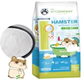 Hamster Bathing Sand,Gerbil Powder Grooming Sand for Tiny Friends Farm Chinchilla Dust Bath Potty Litter Sand (2LB…