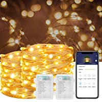 Govee 16.4-ft Fairy Light Battery Operated IP67 Waterproof Led
