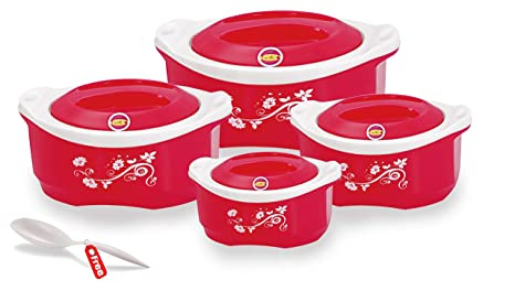 Freshco Maple Casseroles 4 Pcs Gift Set Assorted Color
