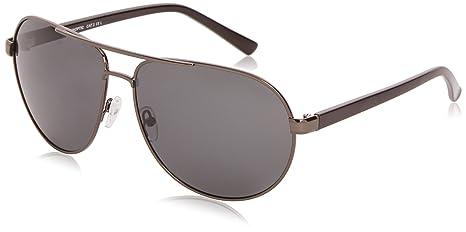 Sunoptic Unisex Sonnenbrille, Gr. One size, Grau Grey (Gunmetal)