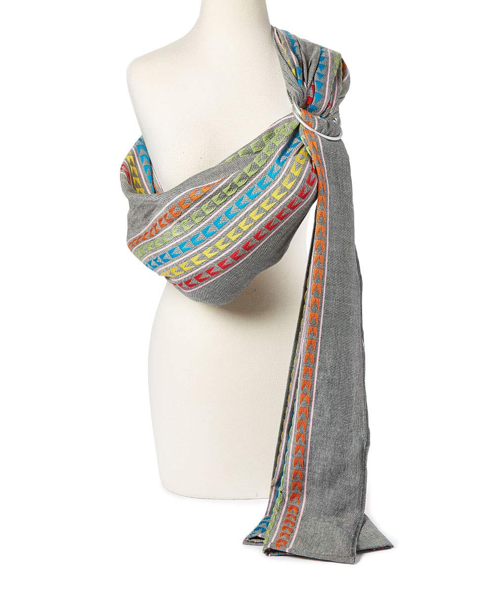 Hip Baby Wrap Ring Sling Baby Carrier for Infants and Toddlers ...