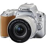 Canon - EOS 200D- Reflex numérique + EF-S 18-55mm F/4-5.6 IS STM - Argent
