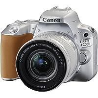 Canon Eos 200D 18-55Mm Fotoğraf Makinesi, Full Hd (1080P), Gümüş