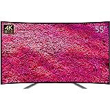 TOSHIBA 东芝 55U8600C 55英寸 4K 曲面超薄 96%广色域安卓智能液晶电视(由东芝厂家直接发货)