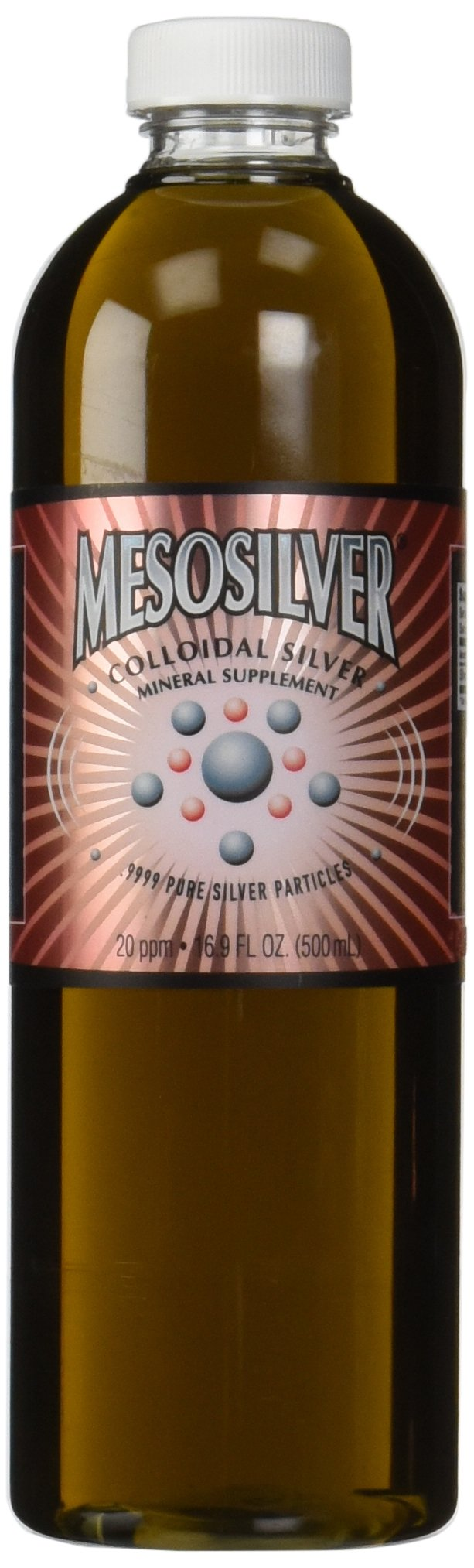 MesoSilver ® 20 ppm Colloidal Silver, 500 mL/16.9 Oz by Purest Colloids