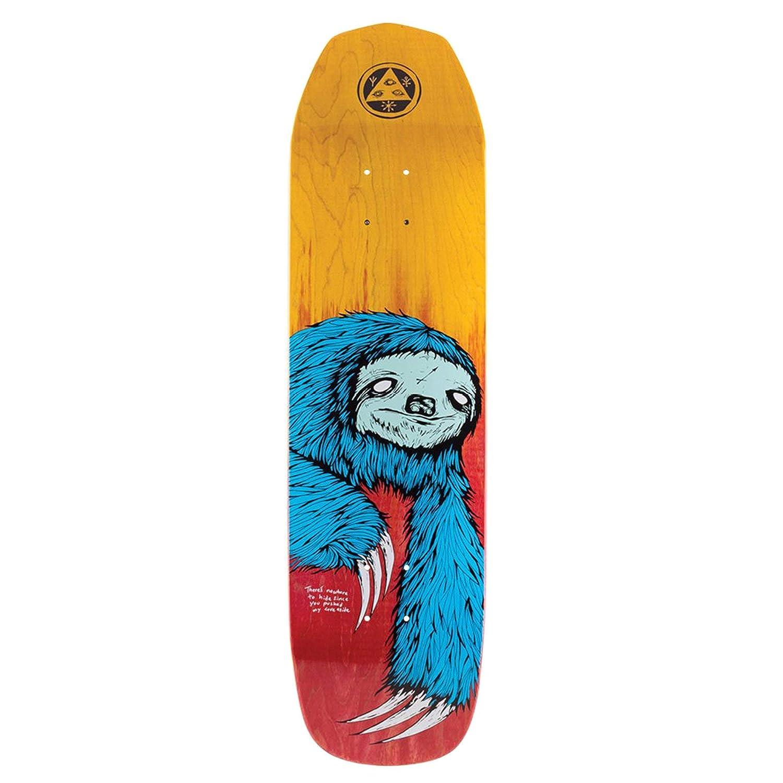 Welcome Sloth On Vimana 8.25 Inch Skateboard Deck