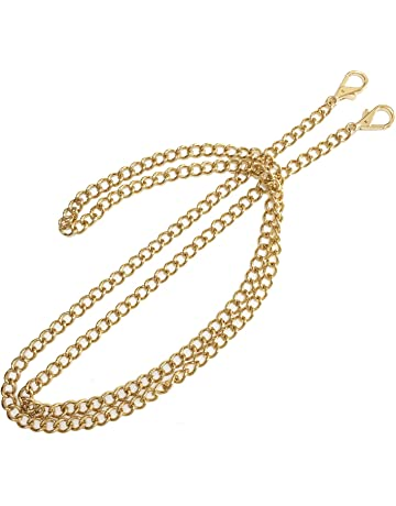 Active Gold Tone Metal Handbag Strap Ornament Swivel Snap Hook 5 Pcs Luggage & Bags