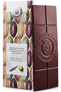 Chocolate Negro con AOVE & Sal Marina (100 g) - La Chinata