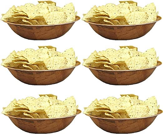 """12 Salad Bowl//Snack  6/"""" Woven Wooden Dish Washer Safe  FREE SHIPPING USA Only"""