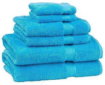 Cambridge Serviette Grand égyptien de serviette de bain 6 pièces ...