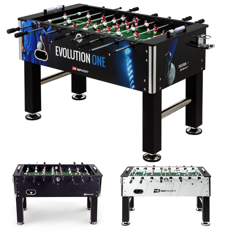 Hop-Sport Tischkicker EVOLUTION Tischfußball Fußballtisch in 3 Farbvarianten