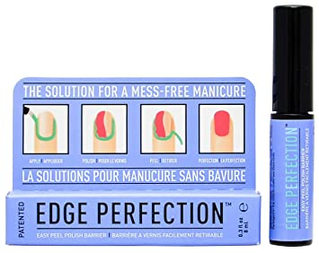 amazon com edge perfection easy peel polish barrier beauty