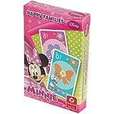 Cartamundi Disney Carte da Gioco per Bambini, Gioco del Quartetto, Gioco di società, Happy Families (Minnie)