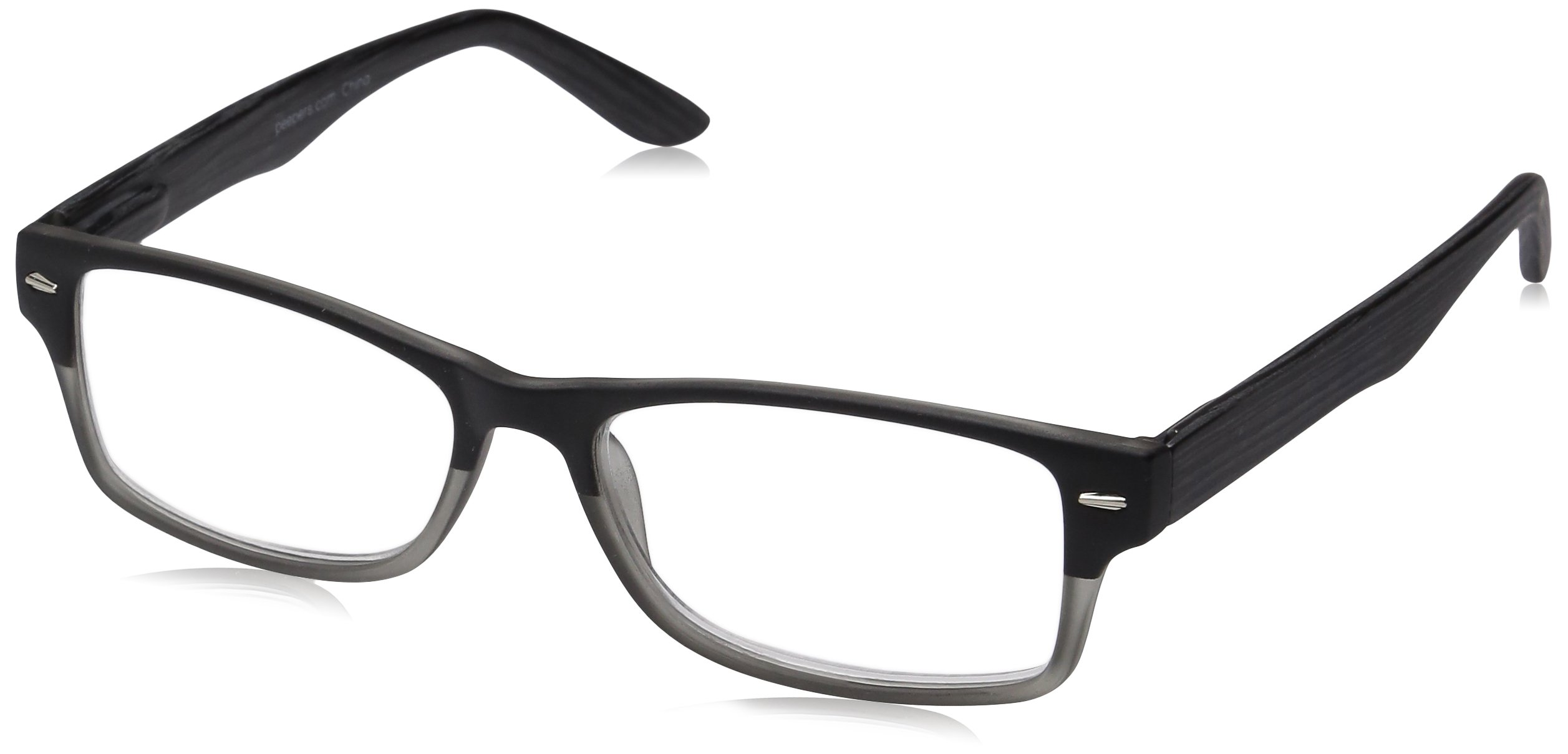 Peepers Men's Page Turner Rectangular Reading Glasses by Peepers